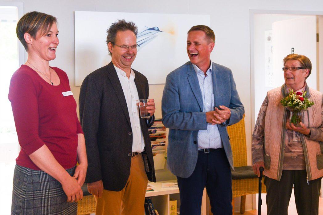 Birger Strahl (2. von rechts)